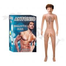 Antonio Realistik Titreşimli Şişme Erkek