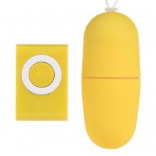 Mp3 Kablosuz Titreşimli Sarı Orgazm Topu