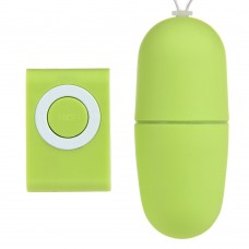 Mp3 Kablosuz Titreşimli Yeşil Orgazm Topu