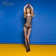 Lolita Özel Bölgesi Açık Seksi Erotik Vücut Çorabı