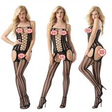 Lolita Şık Fantezi Vücut Çorabı
