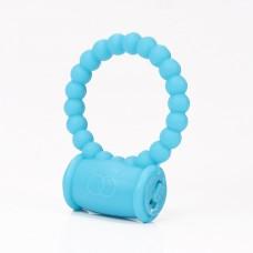 Mavi Titreşimli Spiral Noktalı Penis Halkası