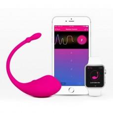 Lovense Lush Heryerden Kontrol Edilebilen ve Giyilebilen Akıllı Telefon Uyumlu Mini Vibratör