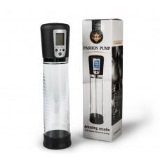 Passion Pump Led Ekranlı Usb Şarjlı 4 Çekim Fonksiyonlu Güçlü Otomatik Penis Pompası