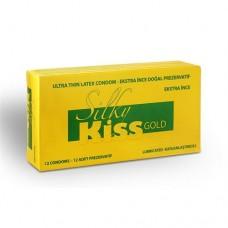 Silky Kiss Gold Süper İnce 12'li Prezervatif