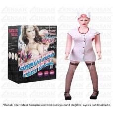 İnflatable Doll Esmer Realistik Şişme Bebek