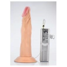 Enduro Blaster 20 Cm Yumurtalıksız Kalın Titreşimli Realistik Penis