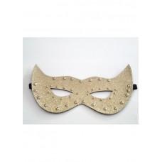 Altın Sarısı Fantezi Maske